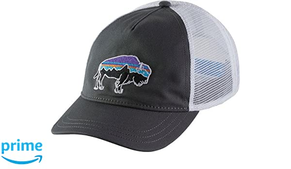 131149d93df Amazon.com   Patagonia Women s Fitz Roy Bison Layback Trucker Hat (One  Size
