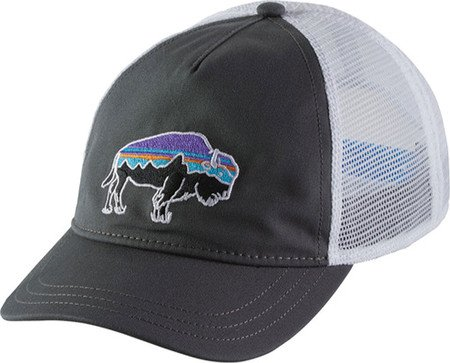 0651b06bbdf Amazon.com   Patagonia Women s Fitz Roy Bison Layback Trucker Hat (One  Size