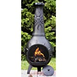 Cheap Large Chiminea Cover Color: Charcoal