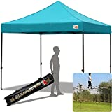 ABCCANOPY 30+colors Pop Up Canopy 10 X 10-feet Commercial Instant Canopy Kit Ez Pop up Tent,Bonus Carrying Bag,Turquoise Review