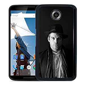 Unique Designed Cover Case For Google Nexus 6 With Hd Michael C Hall Dark Dexter Film Celebrity Phone Case