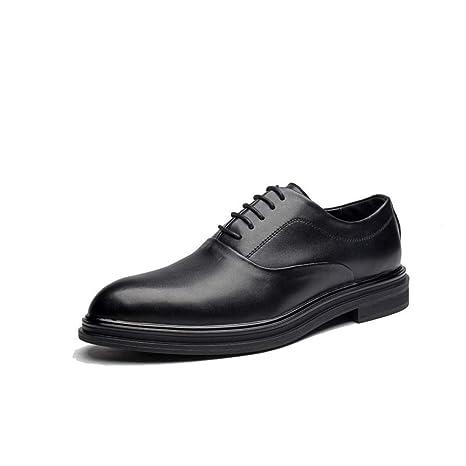Moda casual da uomo Classico stile inglese Oxford Comodi scarpe basse a  punta bassa con taglio f2db2f31406