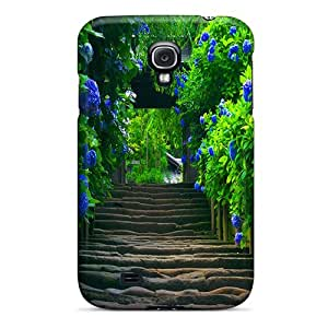 New Fashion Premium Tpu Cases Covers For Galaxy S4 - Beautiful Stairway