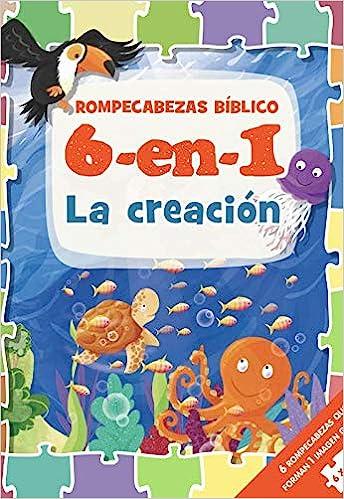 ROMPECABEZAS BIBLICO 6 EN 1 LA CREACION
