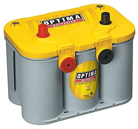 Optima Batteries 8014-045 D34/78 YellowTop Dual Purpose Battery - 1956 Chevy Corvette