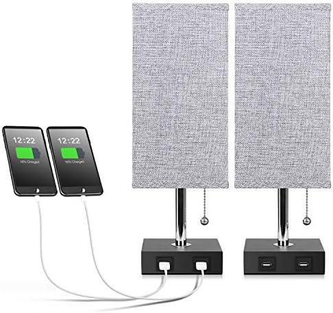 Aooshine Bedside Charging Nightstand Ambient product image