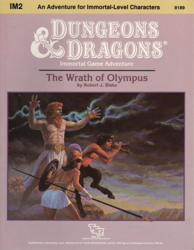 The Wrath of Olympus: Standard Module Im2 (Dungeons & Dragons)