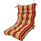 Greendale Home Fashions 44 X 22 In. Outdoor High Back Chair Cushion