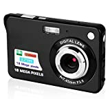 Image of GordVE 2.7 Inch Digital Camera, HD Camera for Backpacking, Mini Digital Camera Pocket Cameras Digital with Zoom, Compact Cameras for Photography