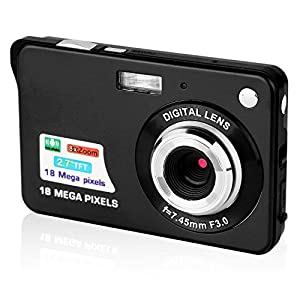 51k89jv26SL. SS300  - GordVE 2.7 Inch Digital Camera, HD Camera for Backpacking, Mini Digital Camera Pocket Cameras Digital with Zoom, Compact Cameras for Photography