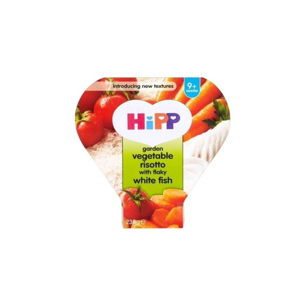Hipp Garden Vegetables Risotto with Flaky White Fish (230g) Grocery