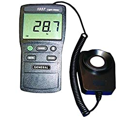 Jumbo Display Light Meter 20 To 20,000 FC & Lux