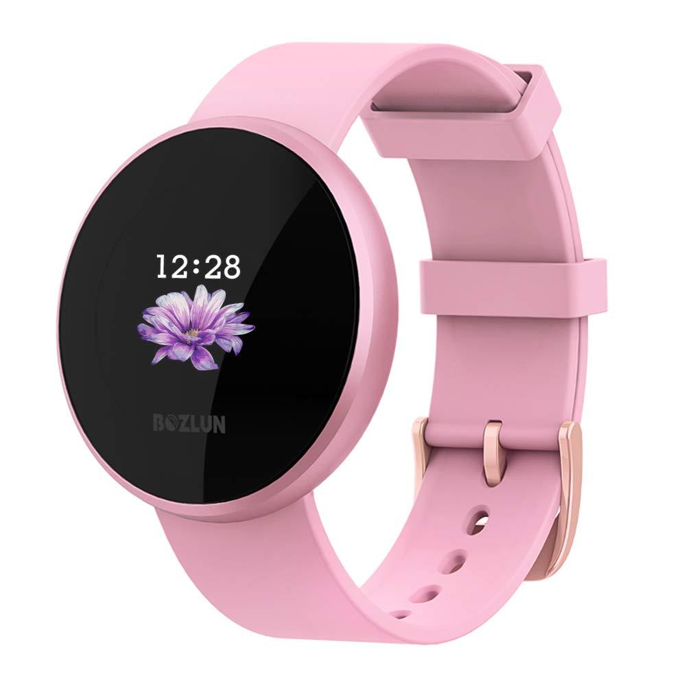 Reloj Inteligente BOZLUN para Mujeres con Monitor de Actividad ...