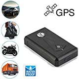 GPS Tracker,Tuscom@ Waterproof TK800 GPS Car Tracking Real Time Device Powerful Magnet Vehicle Tracker