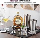 14-Piece Cocktail Shaker Set - Bar Tools