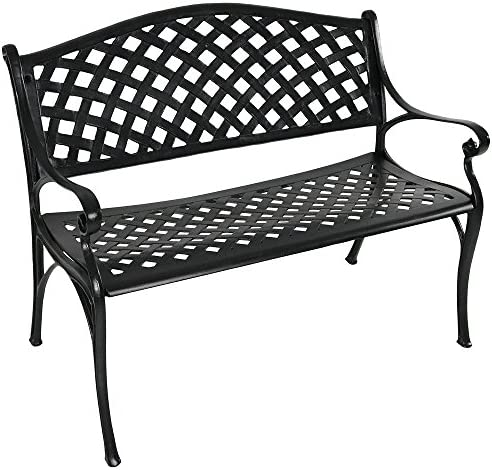 Sunnydaze Outdoor Patio Bench