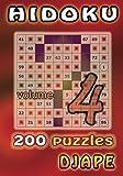 Hidoku: 200 puzzles: Volume 4