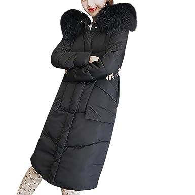 super popular e7a6f 6c6fd BaZhaHei Giacca Donna,Cappotto Donna Elegante Pelliccia Faux ...