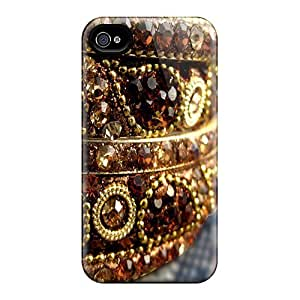 Durable Case For The Iphone 4/4s- Eco-friendly Retail Packaging(bengals)