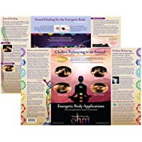 Ohm Therapeutics Chakra Balancing with Sound Chart - Learn to Use Ohm Tuning Forks to Balance and Harmonize the Chakras