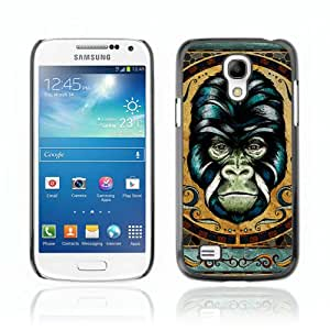 CQ Tech Phone Accessory: Carcasa Trasera Rigida Aluminio PARA Samsung Galaxy S4 Mini i9190 - Detailed Gorilla Illustration