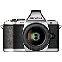 Olympus OM-D E-M5 16MP Live MOS Mirrorless Digital Camera with 3.0-Inch Tilting OLED Touchscreen and 12-50mm Lens (Silver) (Discontinued by Manufacturer)