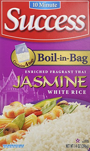 Success Boil in Bag Jasmine Rice, ()