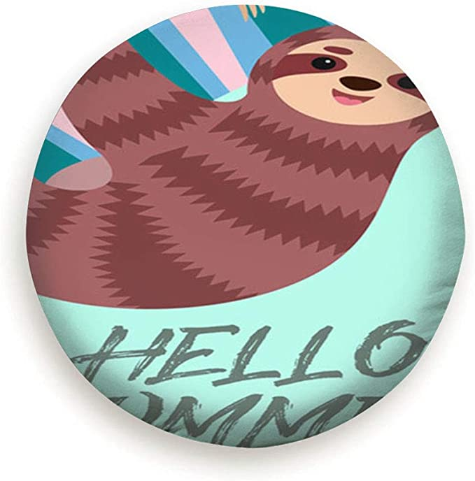 NOT Cute Sloth On The Tree Classic Universal Fit Spare Wheel Tire Cover