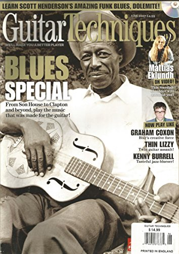 Guitar Techniques Magazine (June 2007,Son House,Clapton) (Guitar Son House)
