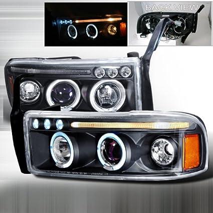 Amazon.com: 94 95 96 97 98 99 00 01 Dodge Ram Halo Projector ...