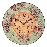 Roger Lascelles Red Wine Wall Clock, 14.2-Inch Review