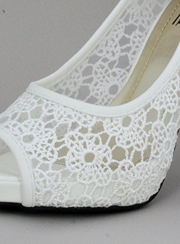 Boutique-Magique Schuhe Zeremonie Abend Hochzeit weiß schwarz–Produkt Gespeichert und verschickt Schnell seit Frankreich Weiß