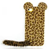 Fun Leopard Print iPhone 5 Case with Panther Tail