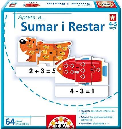 Educa Borrás - Aprenc A...Sumar I Restar (14239): Amazon.es: Juguetes y juegos