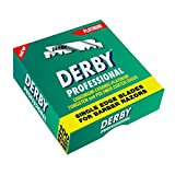Derby Professional Single Edge Razor Blades, 100 Count