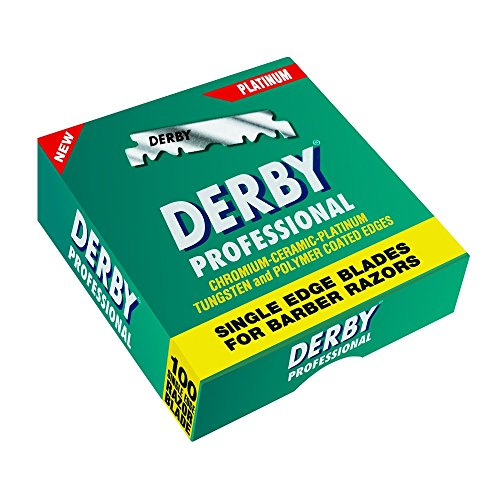 - Derby Professional Single Edge Razor Blades, 100 Count
