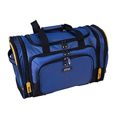Lucas Accelerator 20 Inches Duffel Bag, Blue, One Size