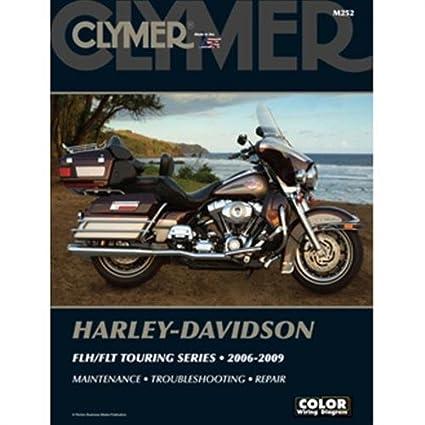 amazon com clymer m252 repair manual for harley davidson flh rh amazon com 2006 HD FLHT 2006 Harley Electra Glide Specs