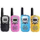 FidgetFidget Handheld UHF Home Travel Use 3 Channel 2PCS Radio T388 Mini Walkie Talkie 2-Way