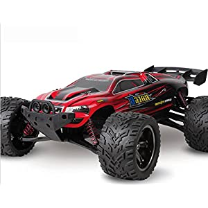 RC Car, FMTStore Remote Control Truck High Speed Off-Road 33+MPH 1/12 Scale Full Proportional 2.4Ghz 2WD (Color May Vary)