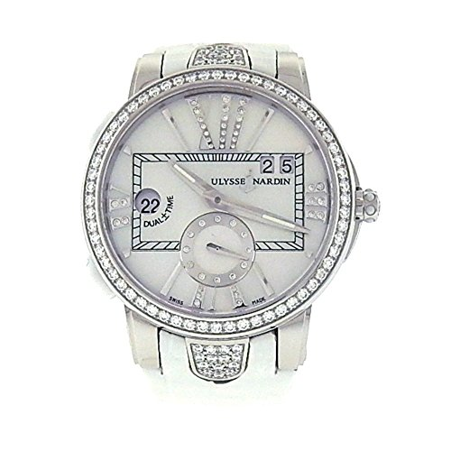 Ulysse-Nardin-Executive-Dual-Time-automatic-self-wind-womens-Watch-243-10B-391-Certified-Pre-owned