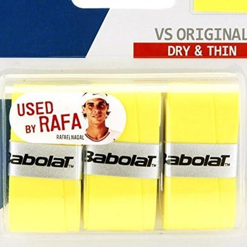 Noir Surgrip Raquette de Tennis My Over Grip Fluo Babolat Taille Unique