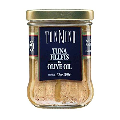 Tonnino Tuna Fillets in Olive Oil, 6.7 oz (Tonnino Tuna Fillets)