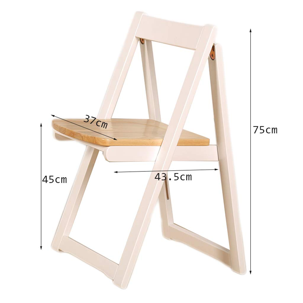 Amazon.com: Wood Folding Chairs Dinning Chair Office Chair ...