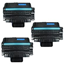 Amsahr ML2850 Samsung ML2850, ML 2850, 2850D Compatible Replacement Toner Cartridge with Three Black Cartridges