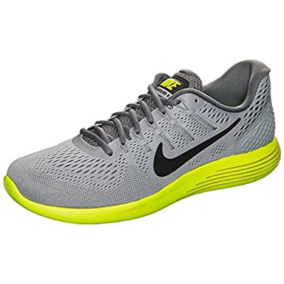 Nike Men's Lunarglide 8 Running Shoe Wolf Grey/Anthracite/Volt/Cool Grey Size 11.5 M US