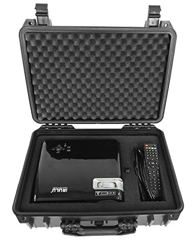 Tough and Secure Projector Hard Case by CASEMATIX - for BenQ MU686 / MX704 / MW705 / HT4050