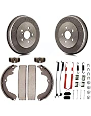 Rear Brake Drum Shoes Spring And Cylinders Kit (6Pc) For Toyota Matrix Pontiac Vibe