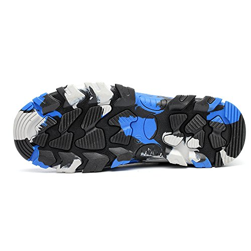 Steel Footwear Construction Industrial Work Mens Proof Camouflage Safety Shoes Toe TRUPO Blue Puncture YXxqTwvIw6