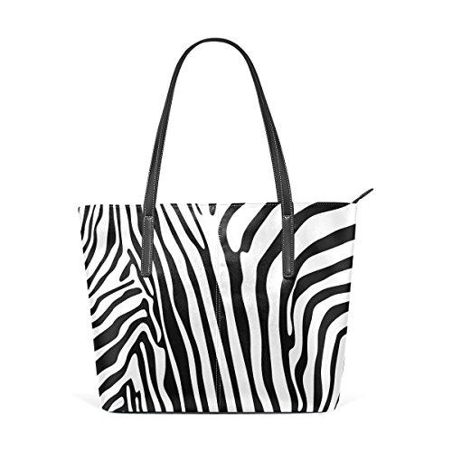 5089a34c1ac54 COOSUN Zebra Muster PU Leder Schultertasche Handtasche und Handtaschen  Tasche für Frauen